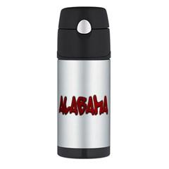 Alabama Graffiti FUNtainer Thermos Bottle (12 oz)