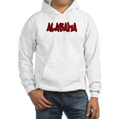 Alabama Graffiti Hooded Sweatshirt