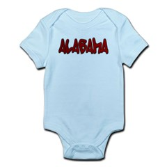 Alabama Graffiti Infant Bodysuit