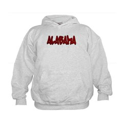 Alabama Graffiti Kids Sweatshirt by Hanes
