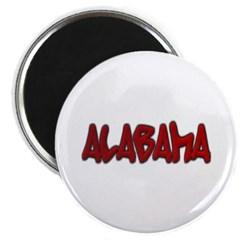 Alabama Graffiti Magnet