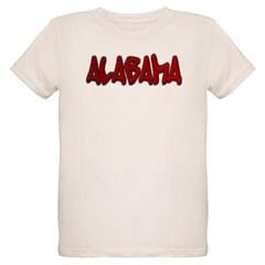 Alabama Graffiti Organic Kids T-Shirt