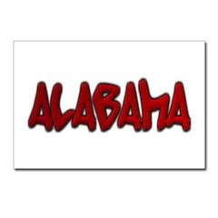 Alabama Graffiti Postcards (Package of 8)