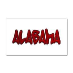 Alabama Graffiti Rectangle Decal