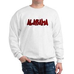 Alabama Graffiti Sweatshirt