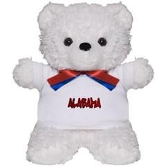 Alabama Graffiti Teddy Bear