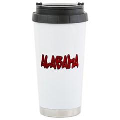 Alabama Graffiti Travel Mug