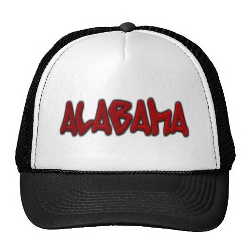 Alabama Graffiti Trucker Hat