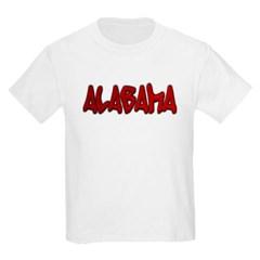 Alabama Graffiti Youth T-Shirt by Hanes