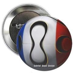 France Soccer Button