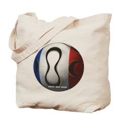 France Soccer Canvas Tote Bag