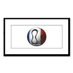 France Soccer Small Framed Print