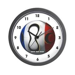 France Soccer Wall Clock