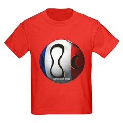France Soccer Youth Dark T-Shirt by Hanes
