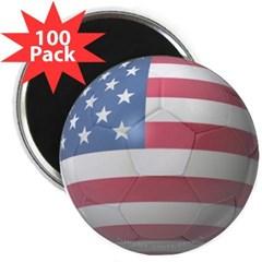 """USA Soccer 2.25"""" Magnet (100 pack)"""