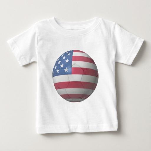USA Soccer Baby Fine Jersey T-Shirt