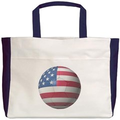 USA Soccer Beach Tote Bag