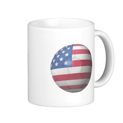 USA Soccer Classic White Mug