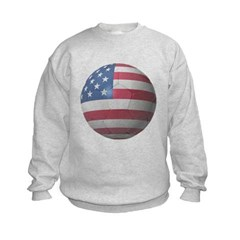 USA Soccer Kids Crewneck Sweatshirt by Hanes