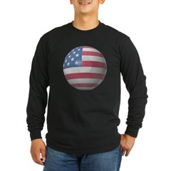 USA Soccer Long Sleeve Dark T-Shirt
