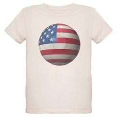 USA Soccer Organic Kids T-Shirt