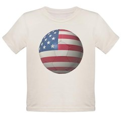 USA Soccer Organic Toddler T-Shirt