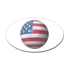 USA Soccer Oval Decal