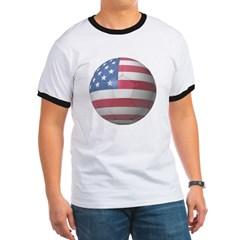 USA Soccer Ringer T-Shirt