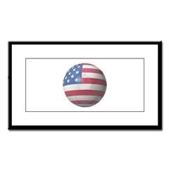 USA Soccer Small Framed Print