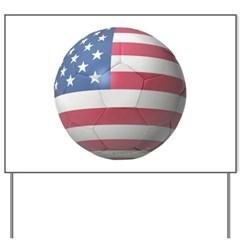 USA Soccer Yard Sign