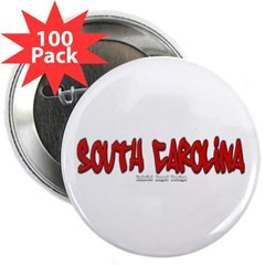 "South Carolina Graffiti 2.25"" Button (100 pack)"