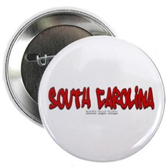 "South Carolina Graffiti 2.25"" Button"