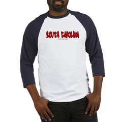 South Carolina Graffiti Baseball Jersey T-Shirt