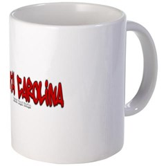 South Carolina Graffiti Coffee Mug