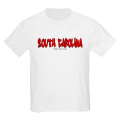 South Carolina Graffiti Youth T-Shirt by Hanes