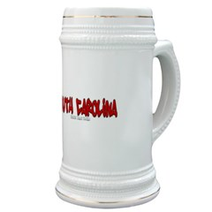 The State of South Carolina Graffiti Stein
