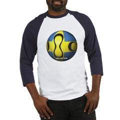 Sweden Soccer Baseball Jersey T-Shirt