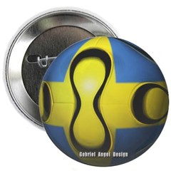 Sweden Soccer Button