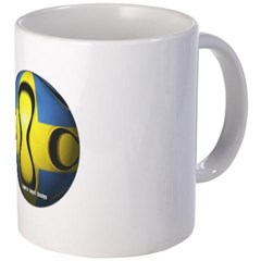 Sweden Soccer Coffee Mug