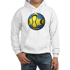 Sweden Soccer Hooded Sweatshirt