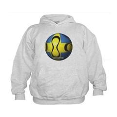Sweden Soccer Kids Sweatshirt by Hanes