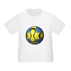 Sweden Soccer Toddler T-Shirt