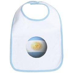 Argentina Soccer Baby Bib