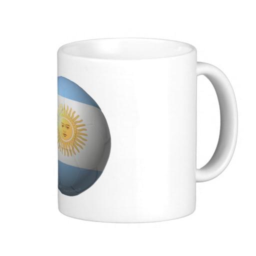 Argentina Soccer Classic White Mug
