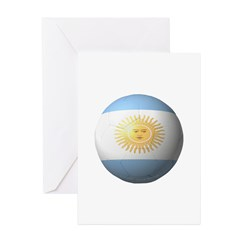 Argentina Soccer Greeting Cards (Pk of 20)