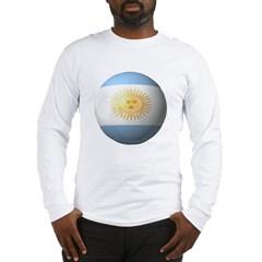 Argentina Soccer Long Sleeve T-Shirt