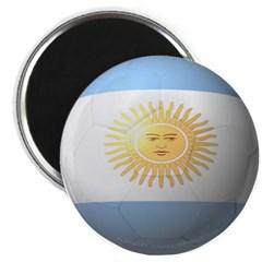 Argentina Soccer Magnet