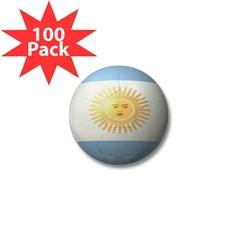 Argentina Soccer Mini Button (100 pack)