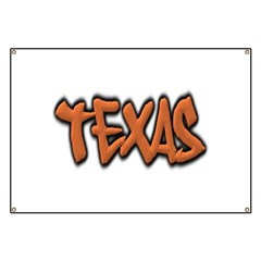 Texas Graffiti Banner