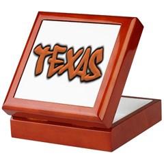 Texas Graffiti Keepsake Box